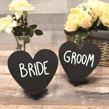 wooden heart shaped chalkboard table signs for wedding tables black chalk boards pretty personalised