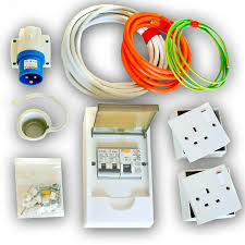 240v (rcd protected) electrical power, vw t4 t5 t6 xtremevan camper caravan electric hook up wiring diagram Caravan Hook Up Wiring Diagram #27