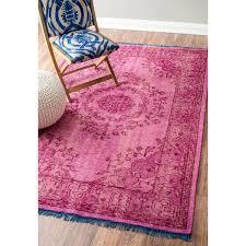 hali house distressed persian vintage pink rug 2u0027 nuloom hand knotted vintage wool pink rug