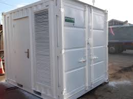 Shipping Container Container Conversion To House A Generator