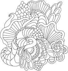 Kleurplaten Voor Decoratieve Hand Getrokken Doodle Natuur Sier