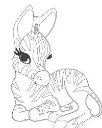 Small Picture Zou The Zebra Coloring Pages Page Printable Pictures Of To Color