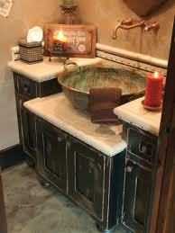 Decorative Bathroom Sinks Extraordinary Rustic Wood Bathroom Vanities Horrible Home
