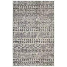 billerica grey 5 ft x 8 ft indoor area rug grey blue