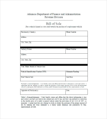 Sale Of Car Contract Bill Of Sale Form Free Automobile Car Contract Template South Africa