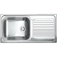 topmount stainless steel sink single bowl right hand drainboard stainless steel kitchen sink top mount stainless