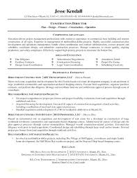 Construction Superintendent Resume Templates Best Construction Resume Samples Construction Resume Templates And