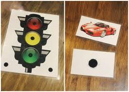 Printable Red Light Green Light Behavior Chart Using A Visual Behavior Chart