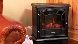 duraflame freestanding electric stove dfs 550blk you rh you com chimney free infrared quartz fireplace heater