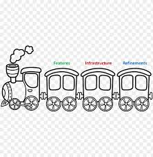 Coloring pages are fun for children of all ages and are a great educational tool that helps children develop fine motor skills, creativity and color recognition! Founded In 1853 The State Owned Indian Railways Has Toy Train Coloring Pages Png Image With Transparent Background Toppng