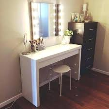 White Bedroom Vanity Set Sets With Lighted Mirror Beautiful Drawers ...