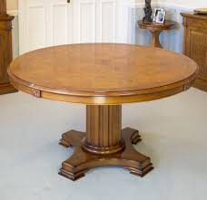 Image of: Extendable Round Dining Table Image