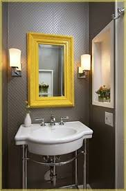 Best 25 Yellow Framed Mirrors Ideas On Pinterest  Yellow Wall Colorful Bathroom Mirrors
