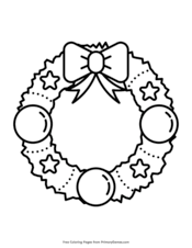 Santa's mail bag coloring page. Christmas Coloring Pages Free Printable Pdf From Primarygames
