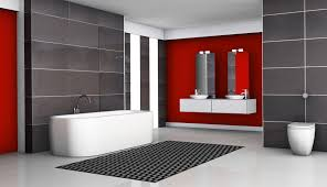 Top Bathroom Remodel Ideas Dream Modern Homes Having A Red Wall In