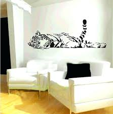 tiger wall decal tiger wall decal as well as tiger wall decals lively cute animal removable