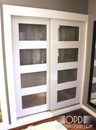 Marvelous Lowes Sliding Doors Prepossessing Modern Sliding Closet