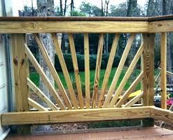 porch railing plans simple deck wooden decorative handrail design wood ideas designs railings front diy