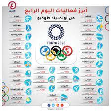 أولمبياد طوكيو 2021.. فعاليات يوم الثلاثاء 27 يوليو والقنوات الناقلة
