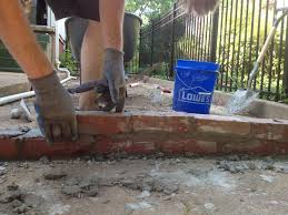 diy brick retaining wall