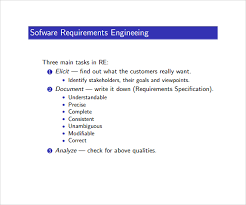 9 Requirement Analysis Templates To Download | Sample Templates