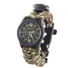 popular mens watches compass buy cheap mens watches compass lots 2016 relogio masculino survival bracelet watch compass fire starter scraper whistle gear watch men watch