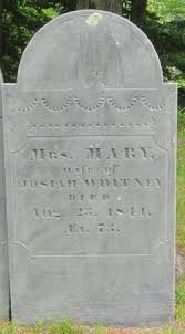 """Mary """"Polly"""" Barrett Whitney (1767-1841) - Find A Grave Memorial"""