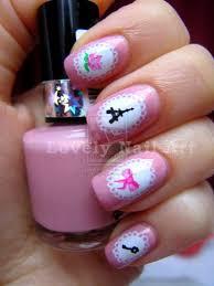 Lovely Nail Design Super Girly Nail Design By Lovely Nail Art On Deviantart