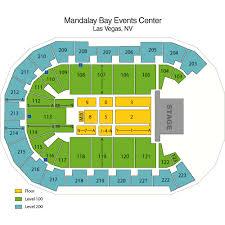 Mandalay Bay Resort Las Vegas Nv Seating Chart Mandalay Bay Events Center Las Vegas Tickets Schedule