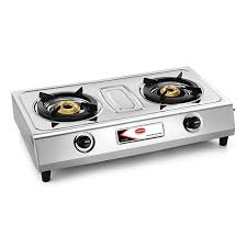 gas stove. Two Burner Stainless Steel Gas Stove - CS 200 E