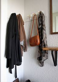 Coat Rack Hanging DIY Coat Rack Tutorial and Inspiration 79