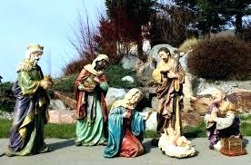 appealing outdoor nativity set audacious decorations scene yard