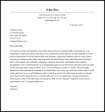 Professional Real Estate Agent Cover Letter Sample & Writing Guide ...