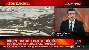 Son dakika haberi: Bitlis'te askeri helikopter düştü - Dailymotion Video