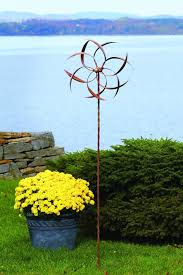 garden spinners an easy way to add