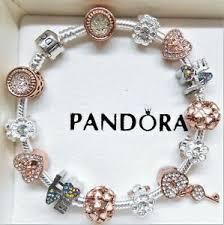 authentic pandora silver charm bracelet