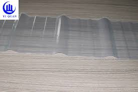 clear color transpa corrugated roofing sheets fiberglass material high strength sun sheet