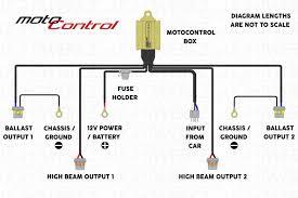 motocontrol bixenon h4 9003 bi xenon wire harnesses components motocontrol bixenon h4 9003 zoom