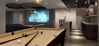 ... game room pool media room design ...