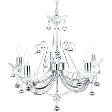 5 light crystal chandelier 5 light crystal chandelier polished chrome messina 5 light chrome and crystal
