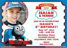 Train Birthday Party Invitations Printable Invitation Template