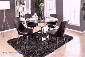round glass dining room table new 5pc izzy round glass table set furniture od america cm3384t