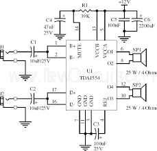 subwoofer amplifier circuit diagram motorcycle schematic subwoofer amplifier circuit diagram 22w stereo amplifier using tda1554 circuit diagram circuit diagram