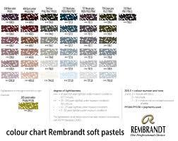 64 Disclosed Talens Gouache Color Chart
