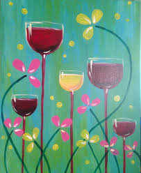i am going to paint wine garden at pinot s palette ellicott city to discover my