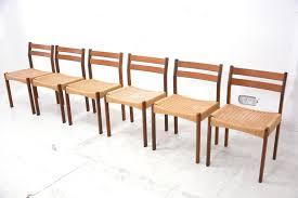chic design danish teak dining chairs 9 dining room