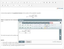 mathtype for moodle
