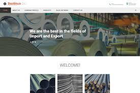 50 Best Industrial Website Templates Free Premium