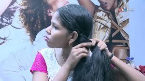 Self Hair Style how to do self hair style arockiyame azhagu ep 24 ibc tamil 7994 by wearticles.com
