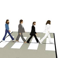 The Beatles Abbey Road Pop Up Card - Lovepop